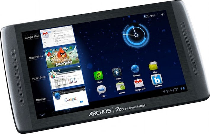 Archos launches 70b Honeycomb tablet, expected to ship next month for $199