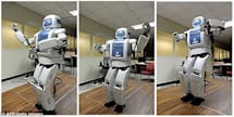 Mahru the robot dances to mask its emotional insecurities