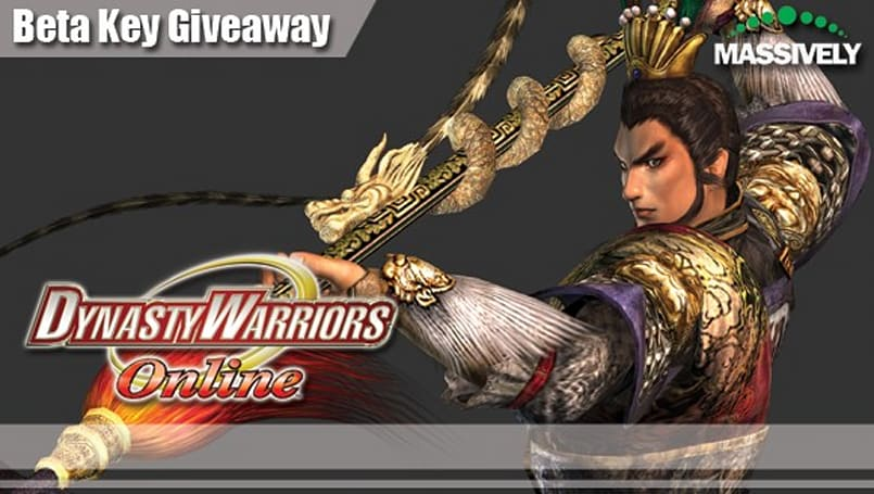 Take a Dynasty Warriors Online beta key, or we'll send Lu Bu to camp your gate