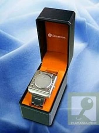 The Sega Dreamcast watch does not play Crazy Taxi