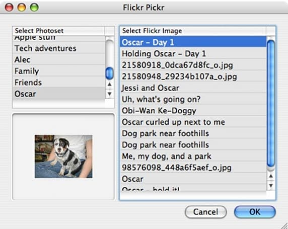 FlickrMate bundle for TextMate