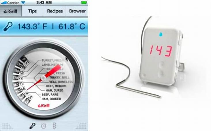 iGrill meat thermometer for iPhone is the expensive, unholy marriage of the meat thermometer and iPhone