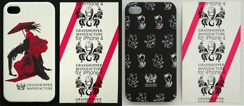 Grasshopper Manufacture hops on the iPhone case trend