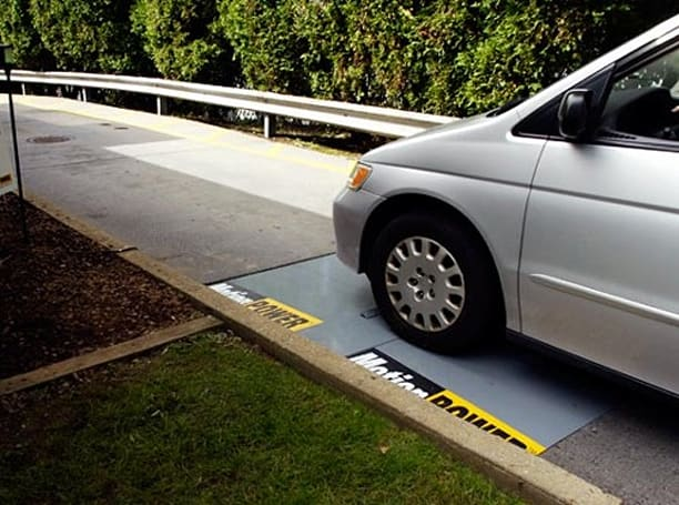 MotionPower speed bump installed at NJ Burger King, McDonald's and Wendy's feel slighted