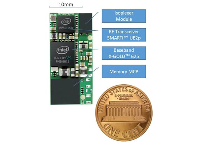 Intel's tiny 3G modem will put always-on data in your smartwatch