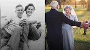 Couple's Special 70th Wedding Anniversary