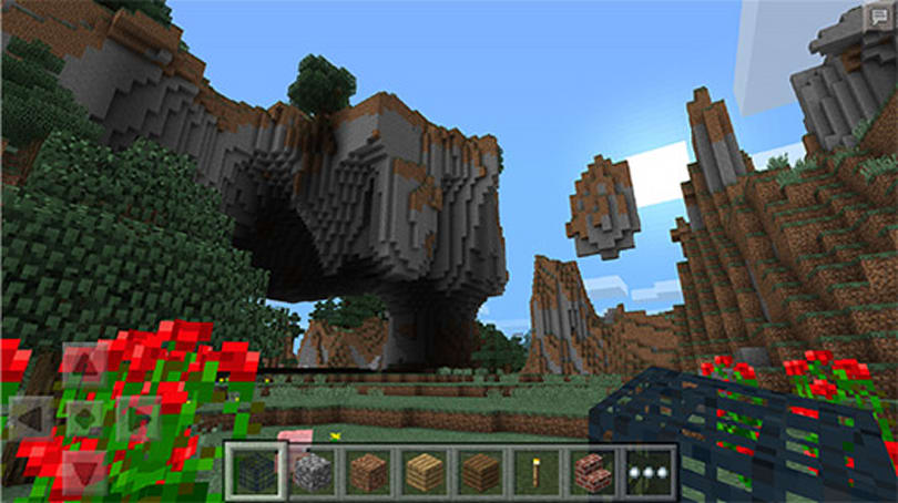 Microsoft unearths a Windows Phone version of Minecraft