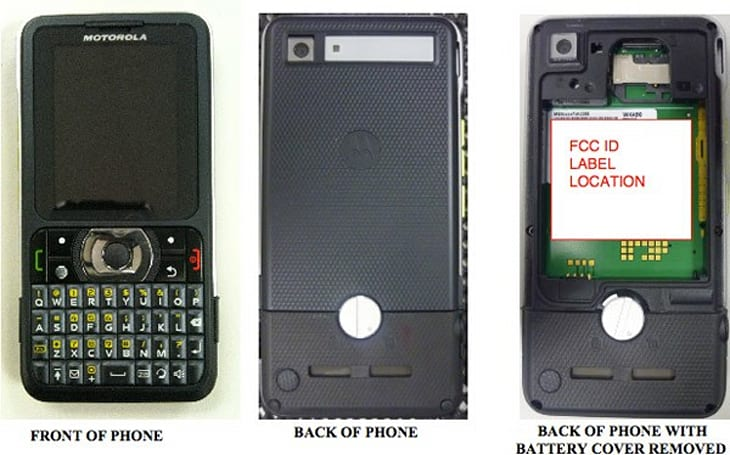 AT&T's Motorola WX450 shows its rugged self in FCC filing