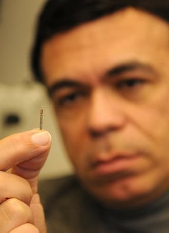 Miniscule device gets injected into tumors, tracks radiation dosage