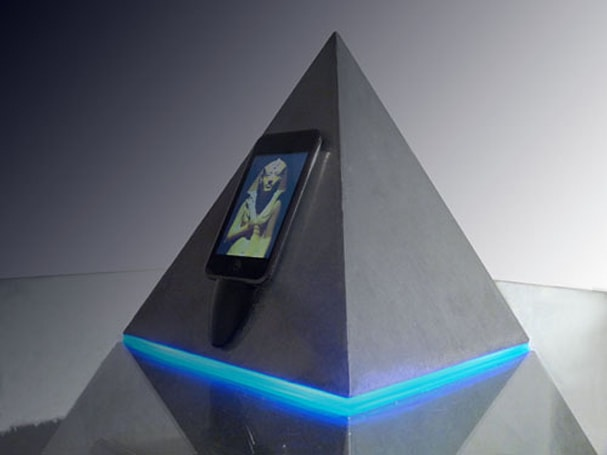 Horus coffee table/iPod dock will make friends question your sanity