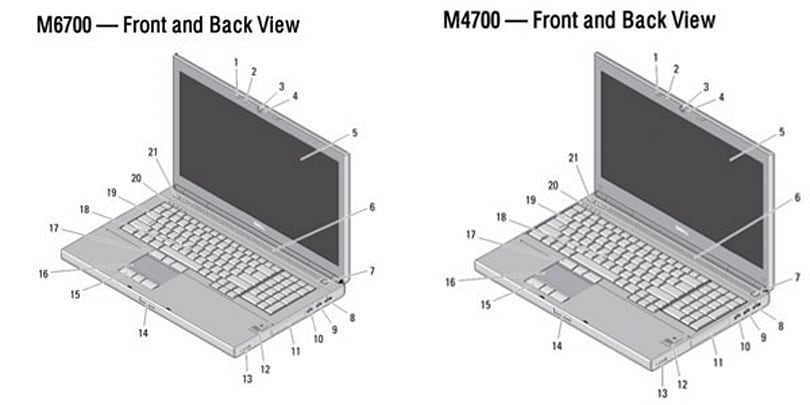 Dell M4700, 6700 documents leak, ruins the surprise for laptop fans