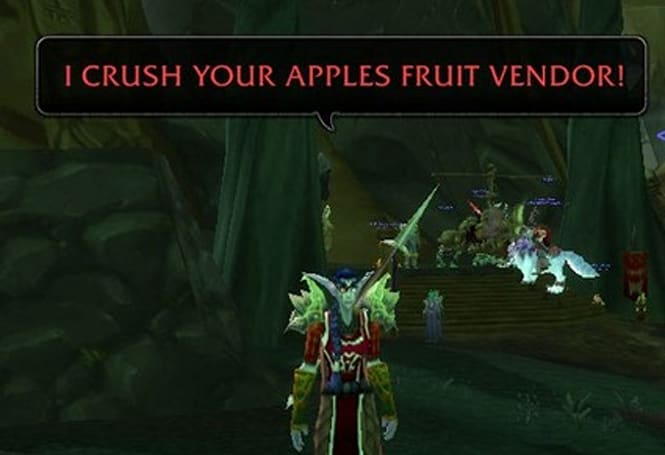 Cro Threadstrong and his crushable apples