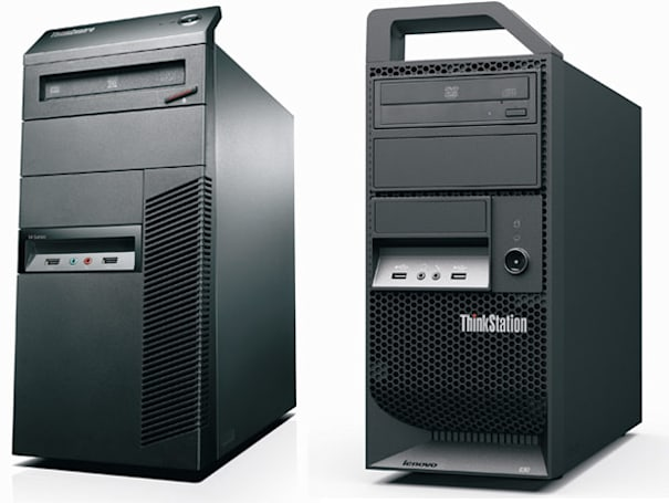 Lenovo gets serious with cubicle-approved ThinkStation E30 and ThinkCentre M81 desktops