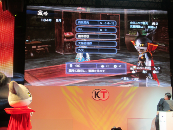 Seen@ Tokyo Game Show 2012: The purrfect presentation