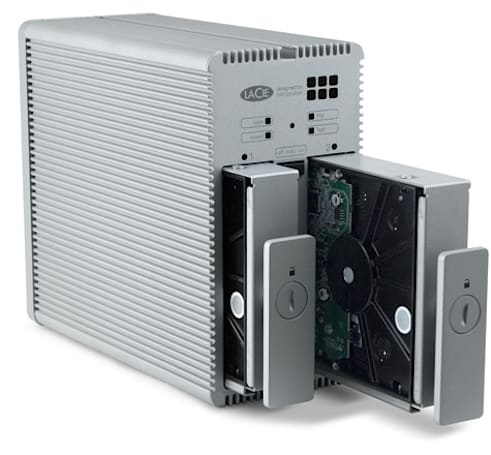LaCie breaks off quad-interface 2big Quadra RAID drive