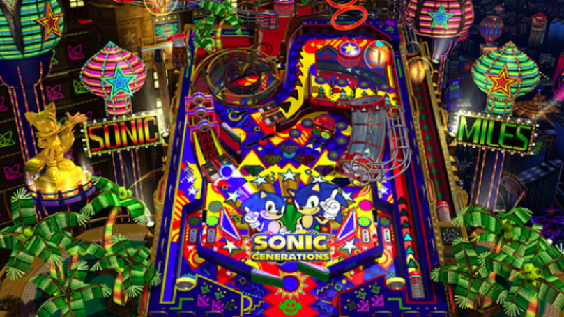 Sonic Generations Casino Nights Pinball DLC on Steam Dec. 26