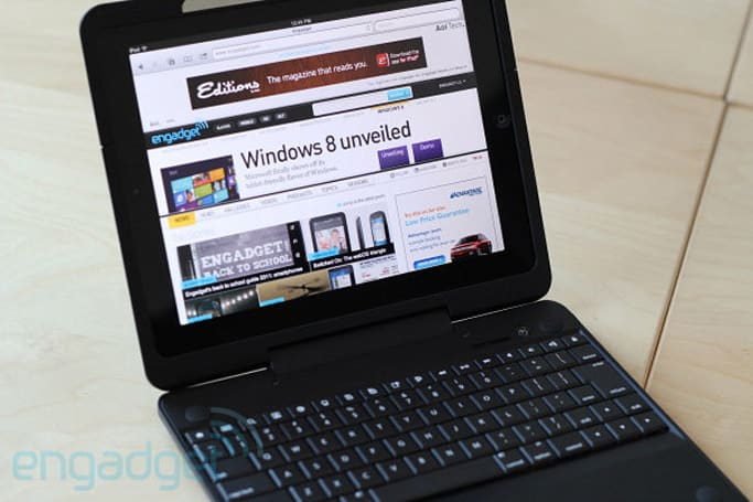 Crux360 iPad 2 keyboard case review