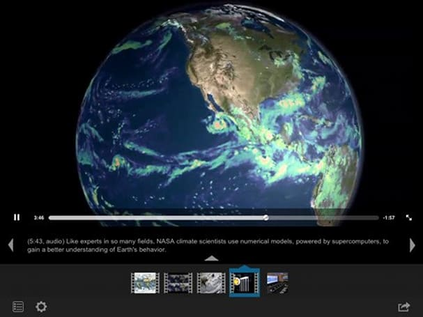 NASA iPad app helps you discover life on Earth