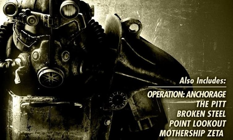 2nd Fallout 3 DLC pack at retail Aug. 25; GOTY edition listed for Oct. 13