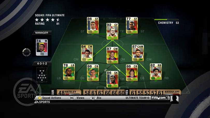 FIFA 10 Ultimate Team DLC pitched amid sales surge
