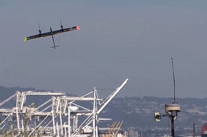 Google X acquires Makani Power, an airborne wind turbine manufacturer