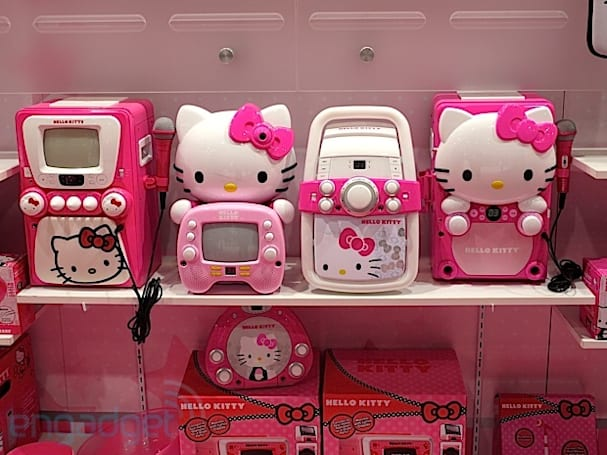 Visualized: Hello Kitty paints CES 2013 pink