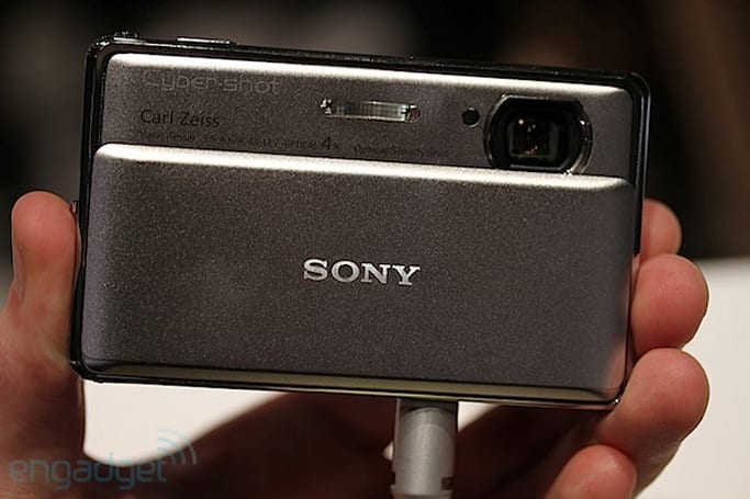 Sony DSC-TX100V and the rest of the Cyber-shot posse hands-on