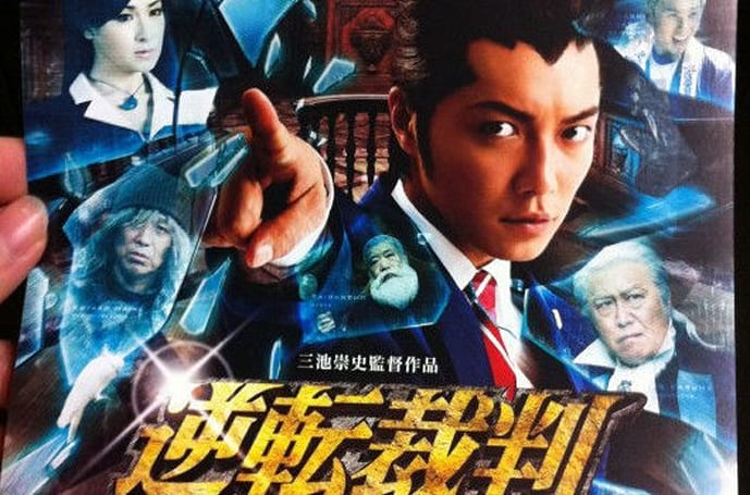 Phoenix Wright flick gets a poster, new trailer