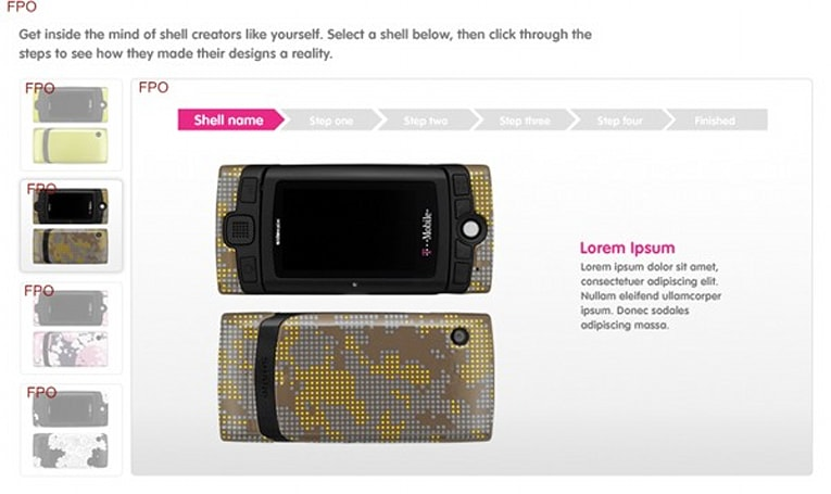 T-Mobile to let users craft their own Gekko shells?