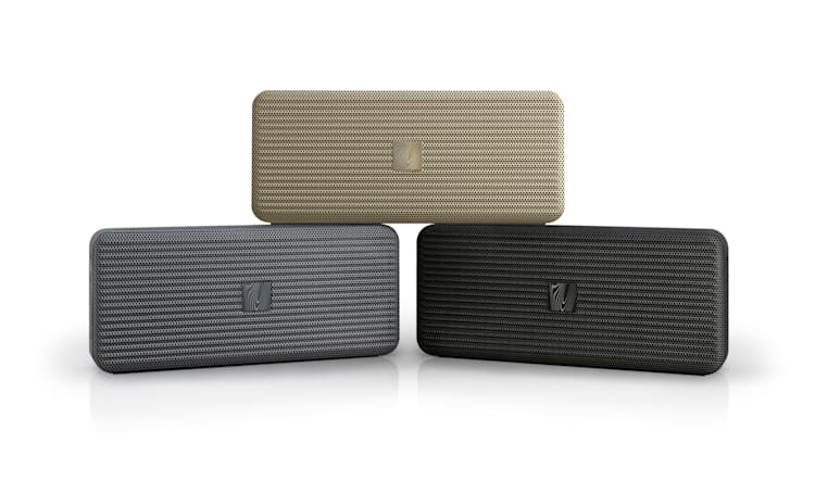Huge sound, tiny speaker: Save 40 percent on the Pocket Kick by Soundfreaq