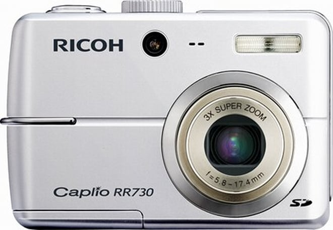 Ricoh intros 7-megapixel Caplio RR730 point-and-shoot