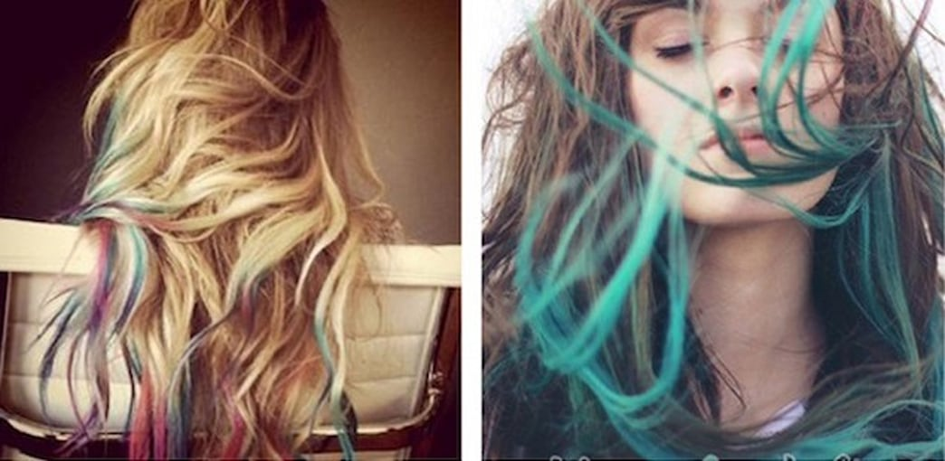 DIY: Dip-Dyed Hair Styling