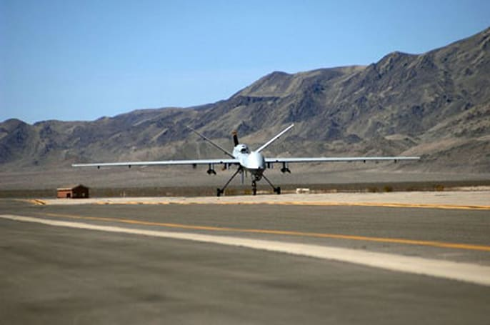 U.S. deploying first robotic aerial drone squadron