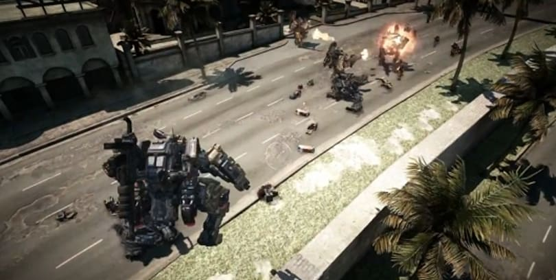 Project HON trailer offers half an hour of mechanized action