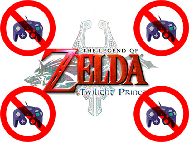 Wii version of Twilight Princess will not support Gamecube controller