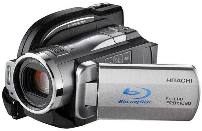 Hitachi's DZ-BD10HA hybrid HD camcorder reviewed