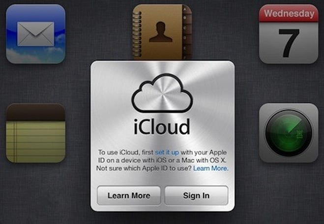 Apple notifies MobileMe members of iCloud.com email options