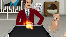 We gave Anchorman 2: Scotchy Scotch Toss a month to see if a movie tie-in game could grow on you.