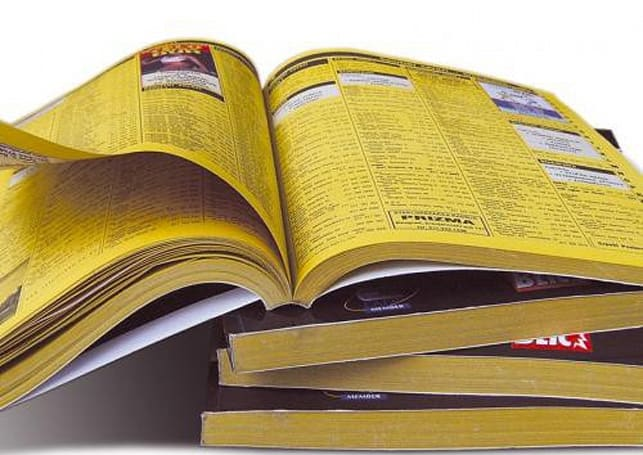 California stops automatic phone book delivery following pressure from Verizon