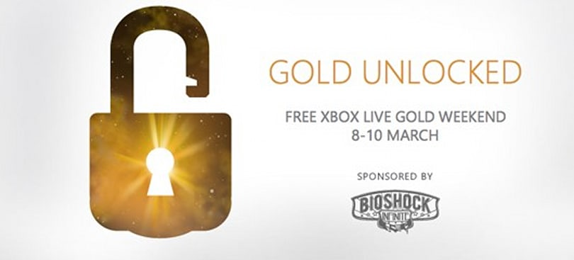 Xbox Live Gold free to all in the UK March 8-10