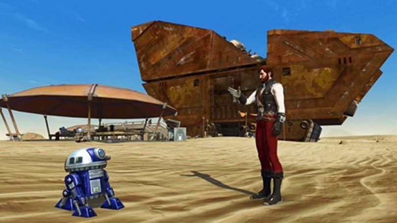 Star Wars: The Old Republic handing out free astromech pets