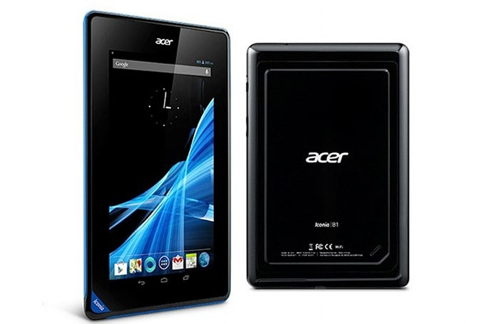 Acer launches 16GB Iconia B1 Android tablet for €139