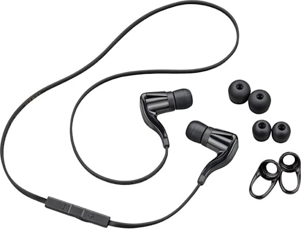 Plantronics BackBeat Go headset sports tangle-free cord, 'rich' stereo sound