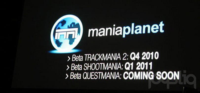Ubisoft announces ManiaPlanet (which is not a video game)