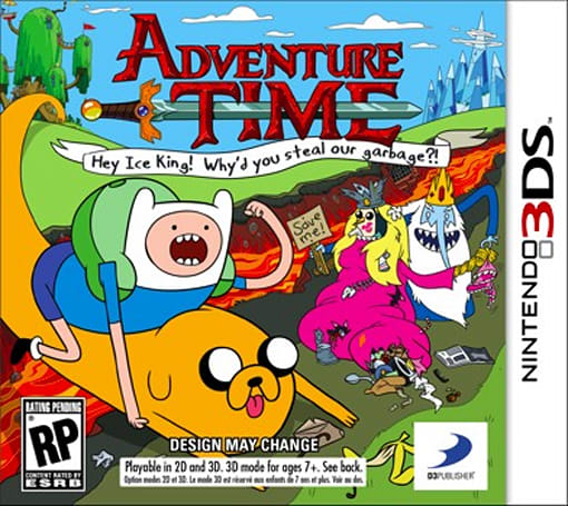 Adventure Time 'collector's edition' spotted