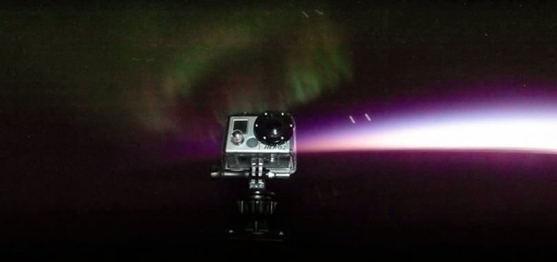Project Aether films northern lights at 100,000 feet using a GoPro camera on a balloon (video)