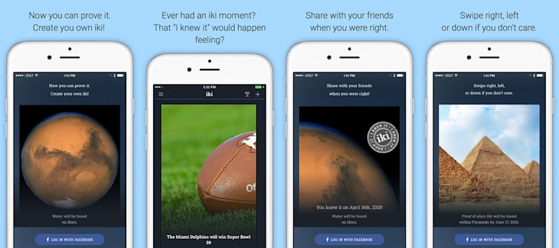 There's an app for saying 'I told you so'