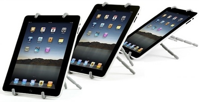Spiderpodium Tablet stand will haunt your desktop on January 12th