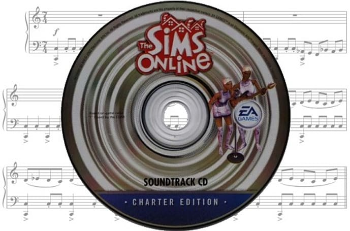 Jukebox Heroes: The Sims Online's soundtrack