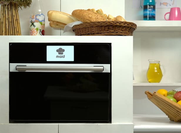 Smart microwave suggests meals based on your cooking habits